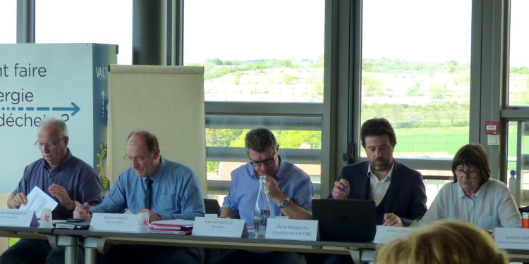 Le comité syndical du VALTOM vote le budget de la collectivité