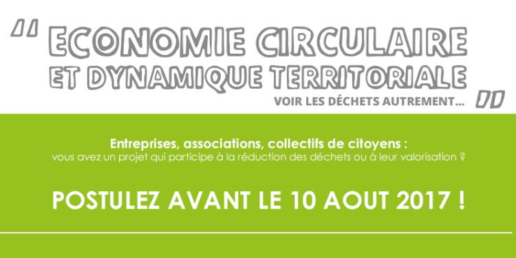 Le VALTOM lance l&rsquo;appel à projets </br> &laquo;&nbsp;économie circulaire etdynamique territoriale&nbsp;&raquo;