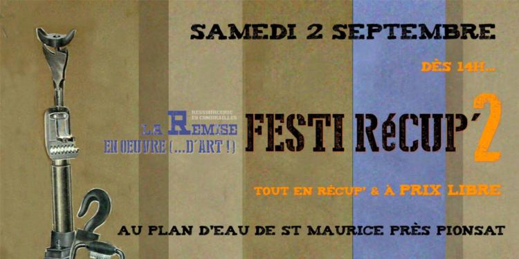 Le Festi Récup&rsquo; de la Remise est de retour,</br> le SAMEDI 2 SEPTEMBRE !