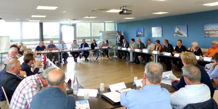 Le comité syndical du VALTOM s'est tenu jeudi 14 septembre </br> sur le pôle de valorisation Vernéa.