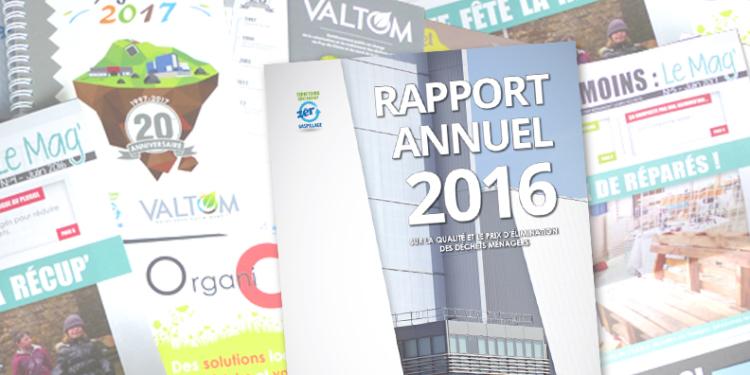 Le rapport annuel 2016 est arrivé !