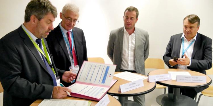 Projet de production d&rsquo;énergie renouvelable</br>sur les installations de stockage de déchets non dangereux du VALTOM