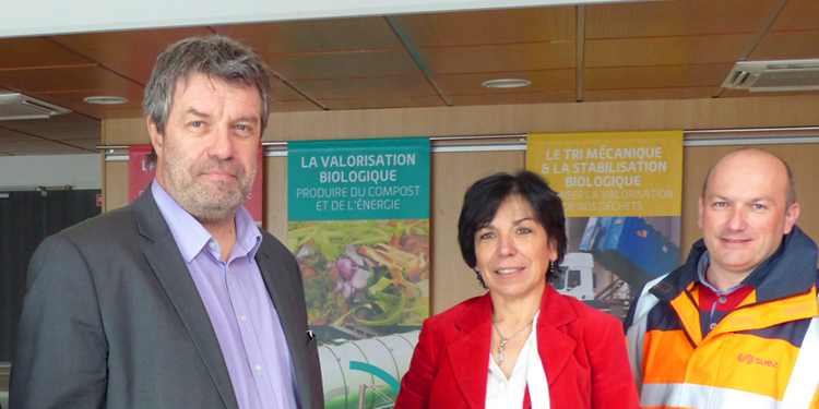 Visite de la députée</br> madame Christine Pires Beaune