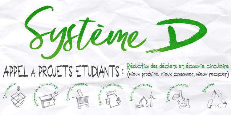 Système D : relance de l'appel à projets à destination des jeunes et étudiants