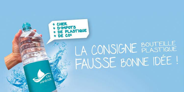 Consigne pour les bouteilles plastiques, la fausse bonne idée !