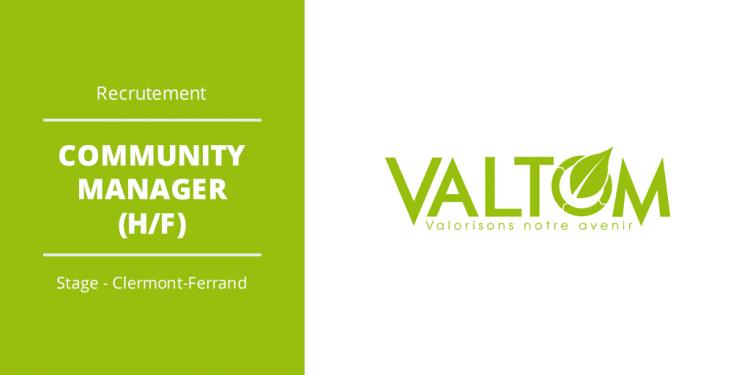 Le VALTOM, recherche un(e) stagiaire :  Community manager