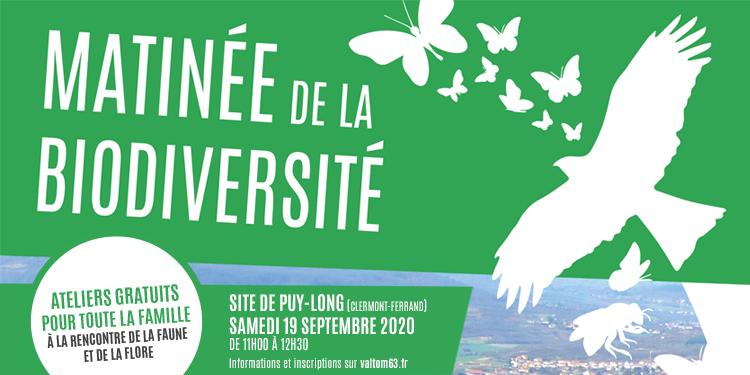 A la rencontre de la biodiversité sur le site de Puy-Long
