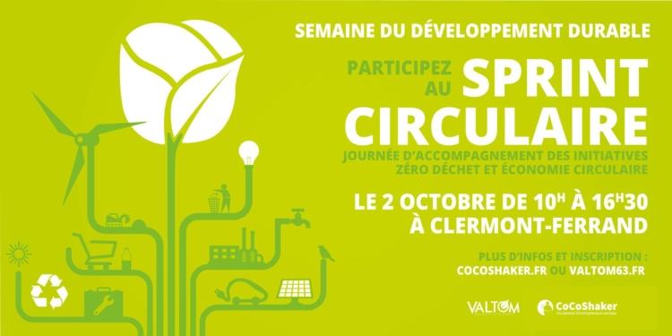 Sprint Circulaire 2e édition : «Entrepreneuriat et Economie circulaire»