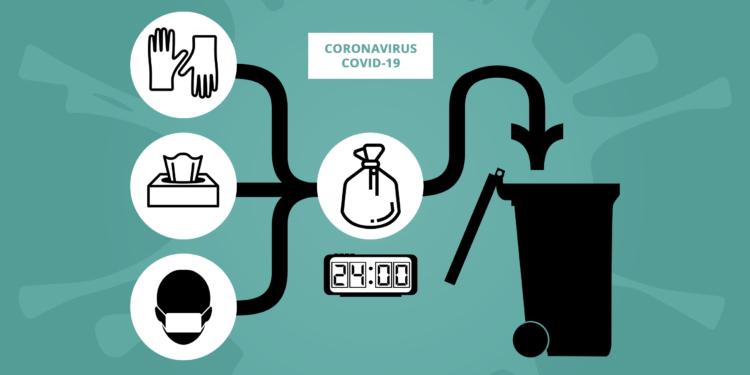 Rappel des consignes de tri pendant la période d'épidémie COVID-19