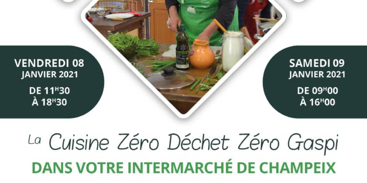 Animations « Cuisine zéro gaspillage zéro déchet » à Champeix